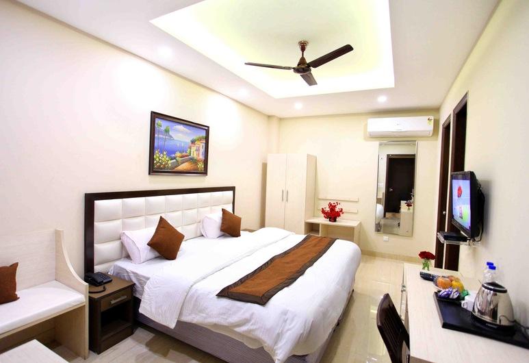 Nirvana Suites, New Delhi, Deluxe soba, Dnevni boravak