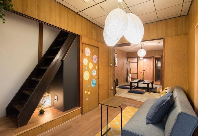 伊肯諾雅飯店, Kyoto, 傳統獨棟房屋 (Japanese Style), 客廳