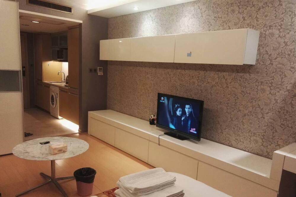 Deluxe Tek Büyük Yataklı Oda - Oturma Alanı