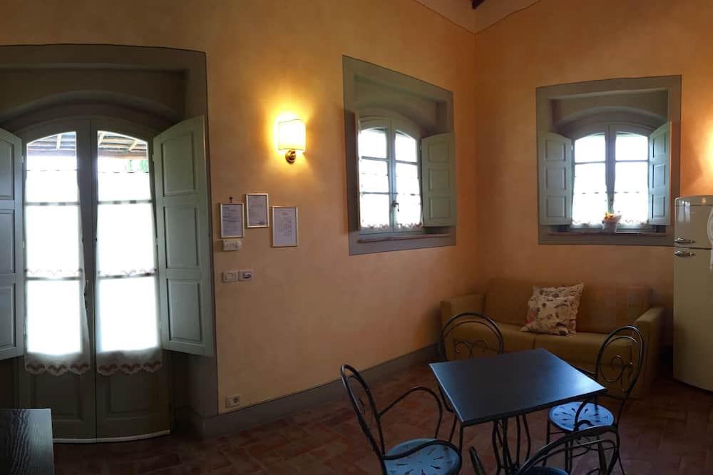 Apartament typu Comfort Suite, 2 sypialnie, aneks - Powierzchnia mieszkalna