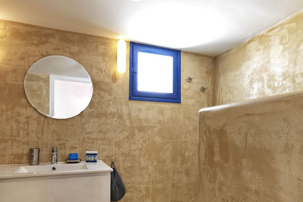 Apartment, Terrace (Psathi Blue Beta) - Bathroom