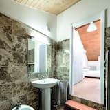 Apartamento, 1 habitación, terraza - Cuarto de baño