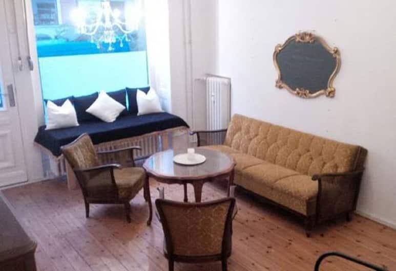 Belle Apartment , Berlin, Lägenhet, Vardagsrum