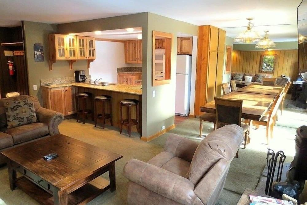 Condominio, 1 habitación - Sala de estar