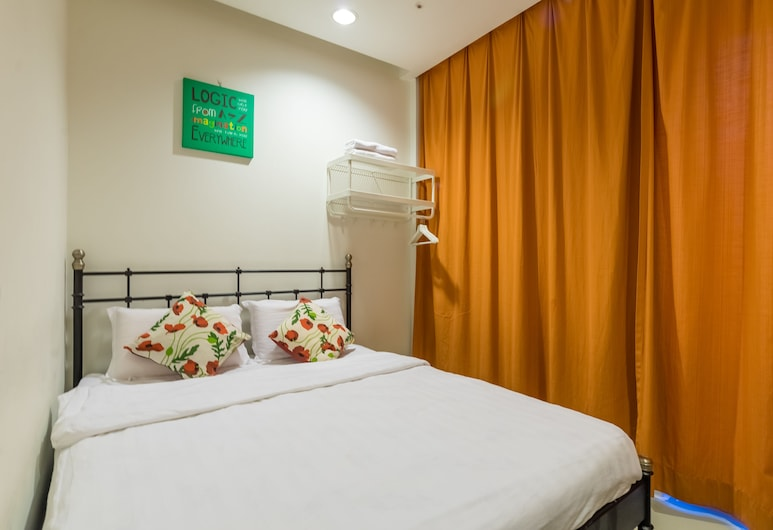 Amethyst Love Guesthouse, Kuala Lumpur, Phòng đôi Deluxe, 1 giường cỡ queen, Không hút thuốc, Khu vực vườn, Phòng