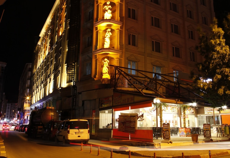 MCG Cakmak Marble Hotel, Afyonkarahisar, Hotellets front – kveld/natt