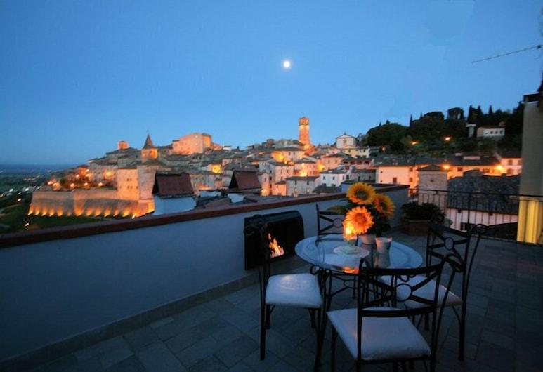 Hotel La Meridiana, Anghiari, Terrace/Patio