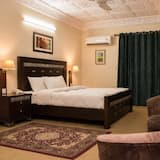 Quadrupla Business, 1 letto queen, vista giardino - Camera