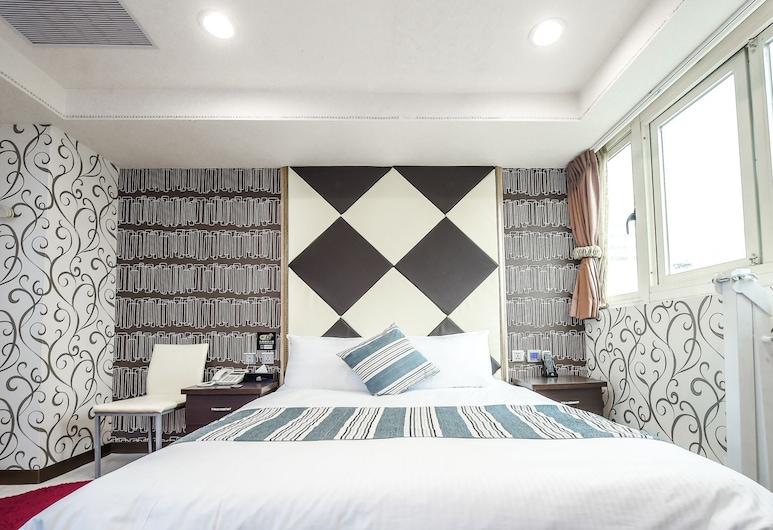 和昕商旅, 台中市, 標準雙人房, 1 張標準雙人床, 客房