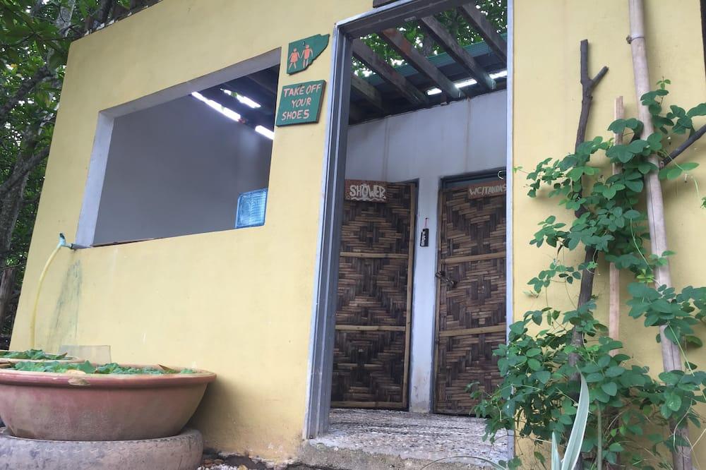 Wspólny pokój wieloosobowy, koedukacyjny pokój wieloosobowy (1 bed in 4-bed room) - Łazienka