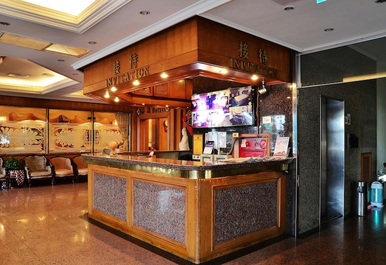 Family hotel- Linsen, Tainan, Reception