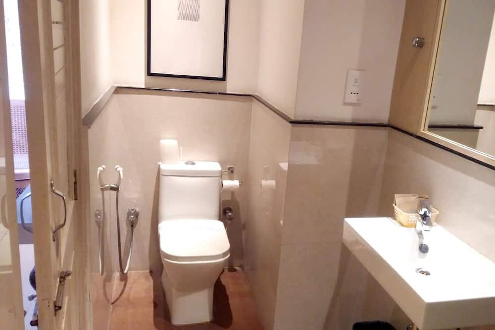 Superior-dobbeltværelse - 1 dobbeltseng - ryger - havudsigt - Badeværelse