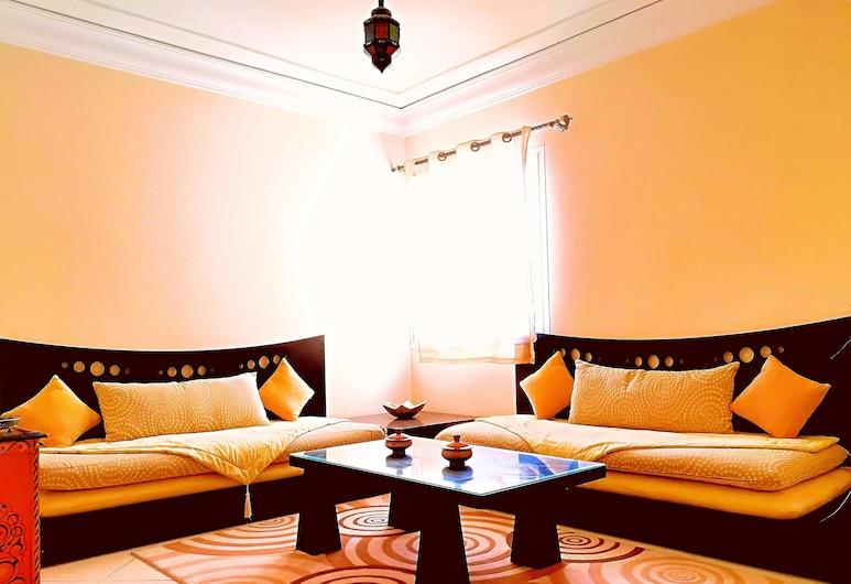 レジデンス ティファオーヌ アガディール, アガディール, コンフォート アパートメント 2 ベッドルーム, リビング ルーム