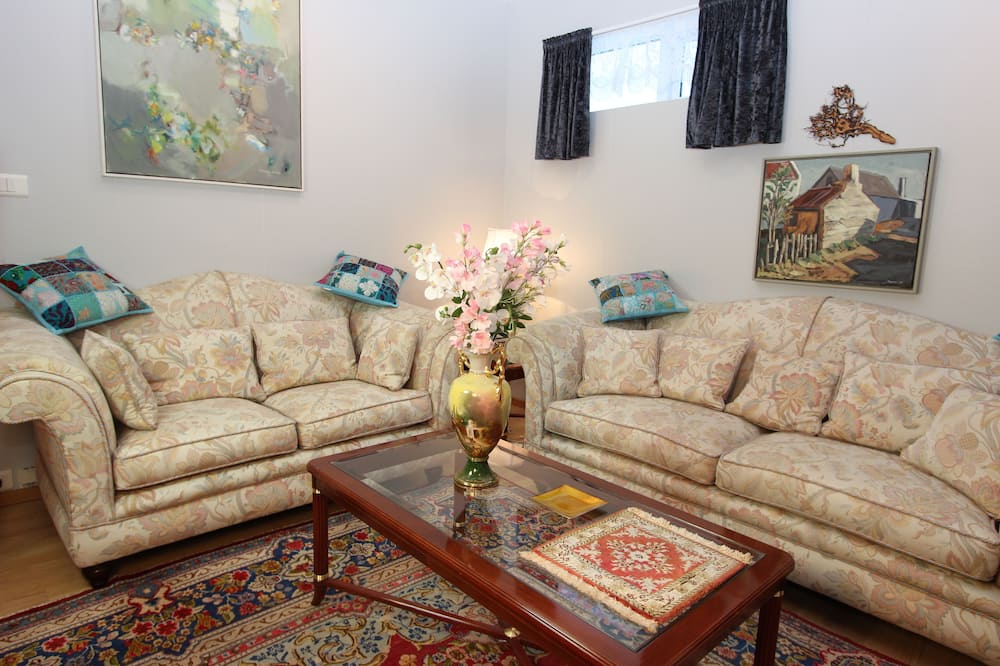 Habitación doble Deluxe, baño compartido - Sala de estar
