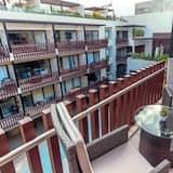 Ateliérový apartmán typu Deluxe, 1 spálňa - Balkón