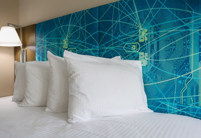Oasis Inn, Beaufort, Room, 1 Katil Raja (King), Refrigerator & Microwave, Bilik Tamu