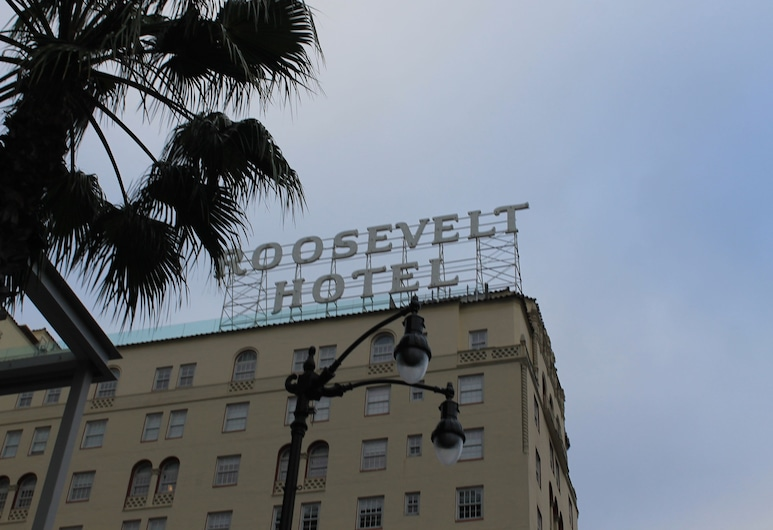 Hollywood and Highland Youth Hostel, Los Angeles, Blick vom Hotel