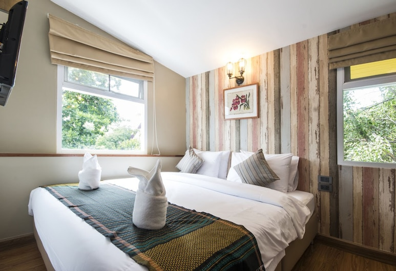 Tawan Bed Club, Chiang Mai, Double Room with Private Bathroom, Guest Room