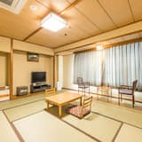 Tradičná izba, spoločná kúpeľňa (Japanese, Quintuple) - Hosťovská izba