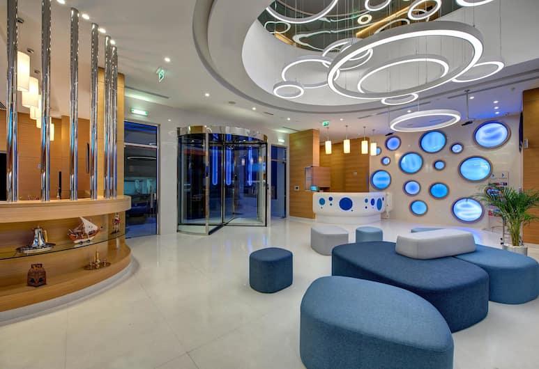 Al Khoory Inn, Dubajus, Poilsio zona vestibiulyje
