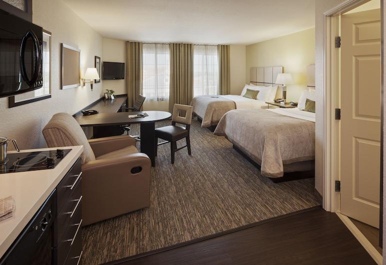 Candlewood Suites Goodlettsville - Nashville, Goodlettsville, Studiosuite, 2Queen-Betten, barrierefrei (Mobility), Zimmer