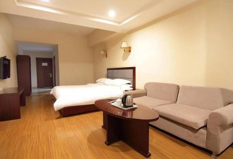 Chengdu Tianfu Lidu Hotel, Chengdu, Deluxe Room, Living Area