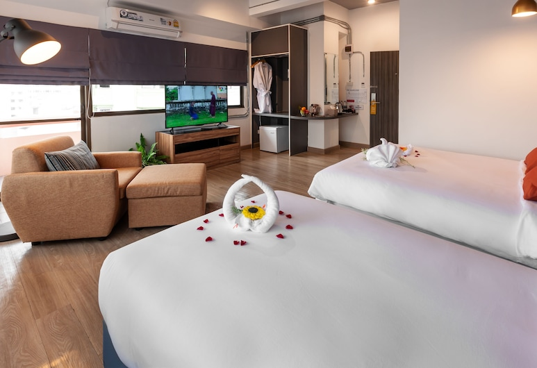 7Days Premium Pattaya, Pattaya, Family Room, Guest Room