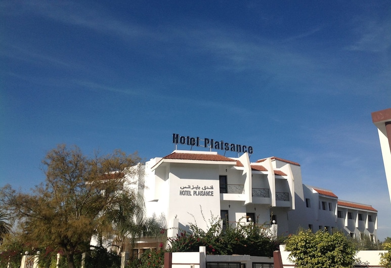 Hotel Plaisance, Meknes, Fassaad