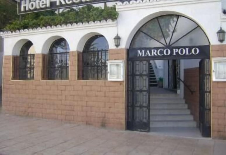 hotel marco polo, Tanger, Hoteleingang