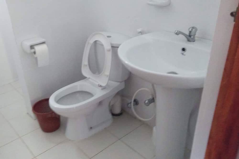 Pokoj Deluxe s dvojlůžkem pro 1 osobu, 1 ložnice, nekuřácký, výhled na pláž - Koupelna