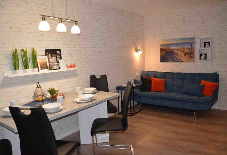 Apartment R&A Naftolin's Messe, Nuremberg, Superior Apartment, 2 Bedrooms, Kitchen, Living Area