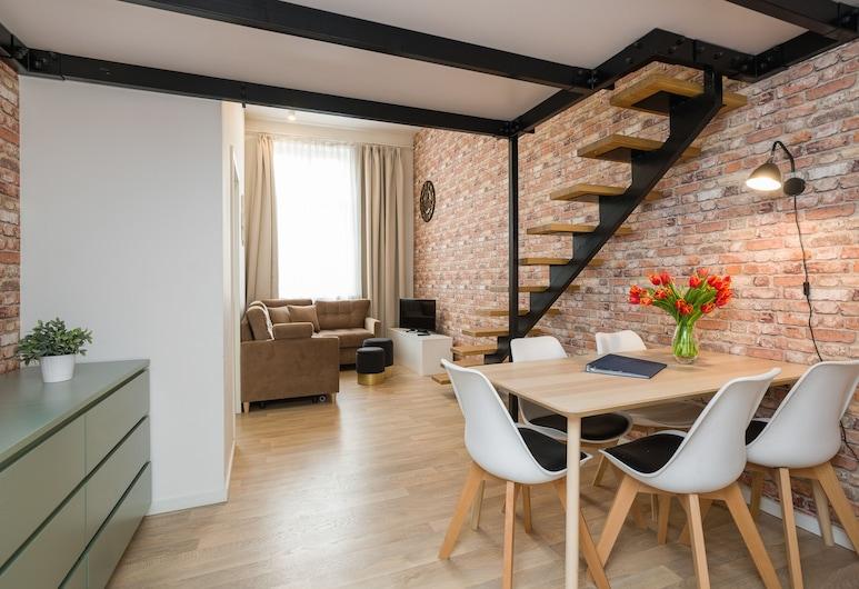 Nook Nook Apartments - Dietla 66, Krakow, Apartment Mezzanine D10/D10b, Living Area