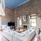 Deluxe Villa, 4 Bedrooms, Sea View, Sea Facing - Living Room