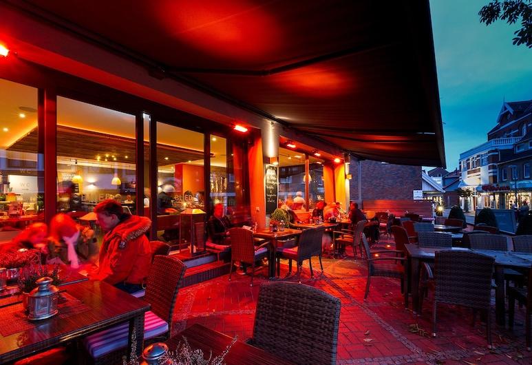 Nordseehotel Kröger, Langeoog, ארוחה בחוץ