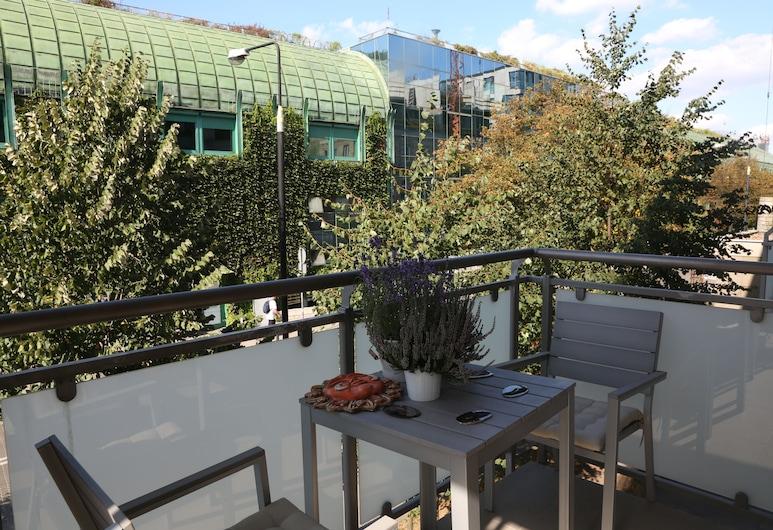 ASKI Powiśle Copernicus Apartment, Varsova, Terassi/patio