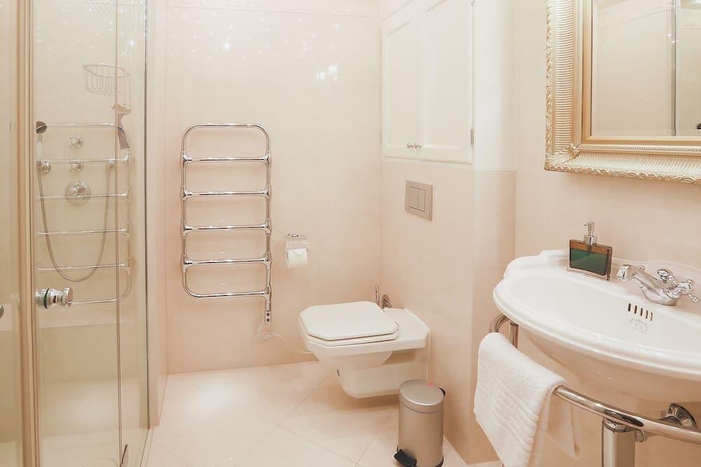 Zimmer, eigenes Bad, Meerblick - Badezimmer