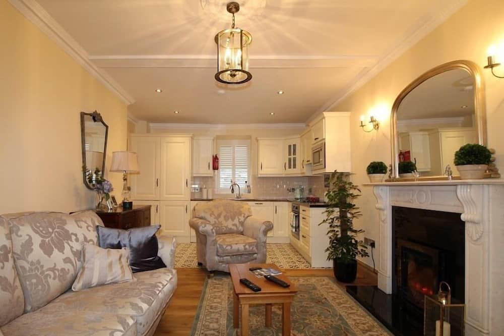 デラックス アパートメント 専用バスルーム (Apartment 3) - ラウンジ