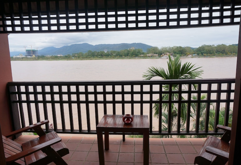 De River Boutique Resort, Chiang Saen, Superior Room, Balcony