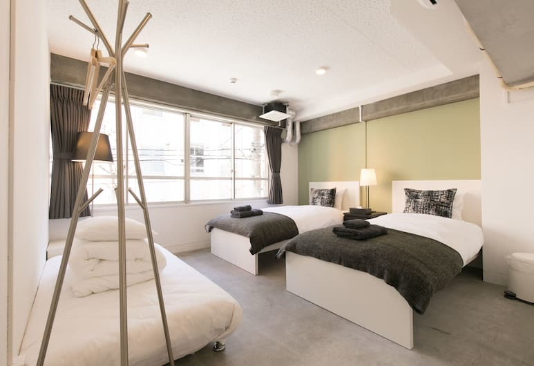 hostel DEN, Tokio, Pokój z 2 pojedynczymi łóżkami, Pokój