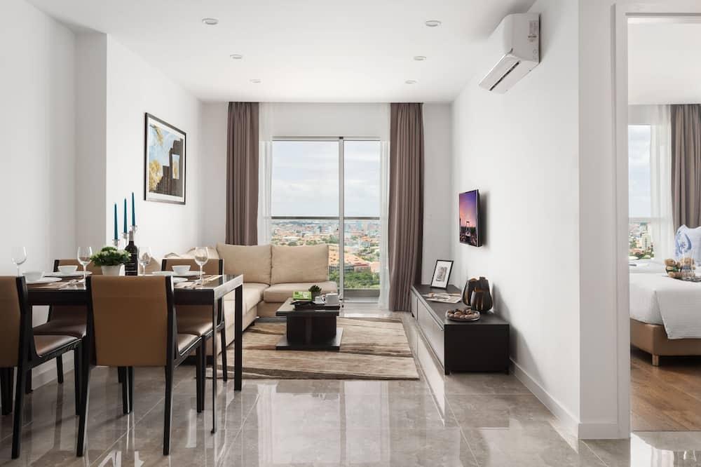 Habitación Deluxe, 2 habitaciones - Sala de estar