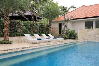 A(z) Tapa Tepi Kali by Pramana hotel fényképe itt: Canggu