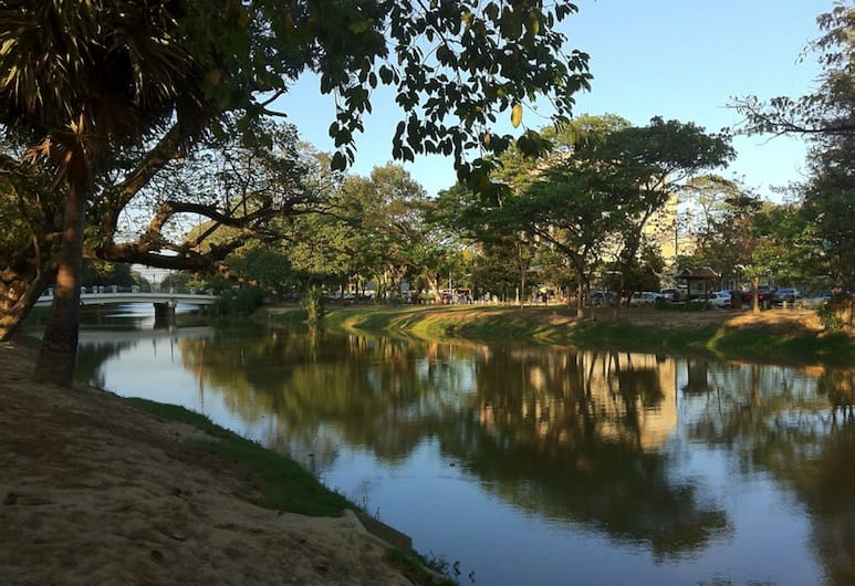 Zita Angkor Hotel, Siem Reap, View from Hotel