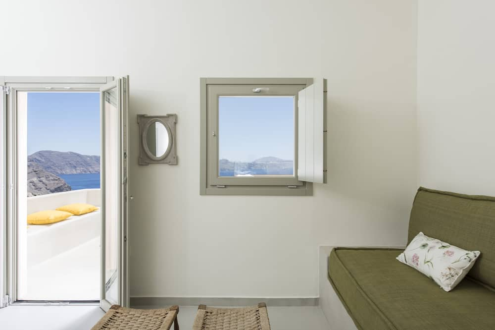 Panoramic Villa, 1 Bedroom (Top Caldera) - Living Area