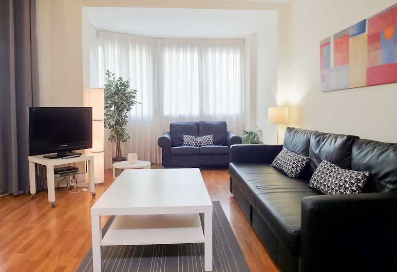 DFlat Escultor Madrid Apartments, Madrid, Apartment, 1 Schlafzimmer (103), Wohnbereich
