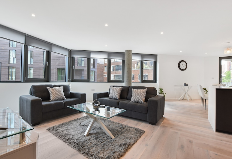 Hoxton by Servprop, London, Apartment, 2 Bedrooms, Living Room