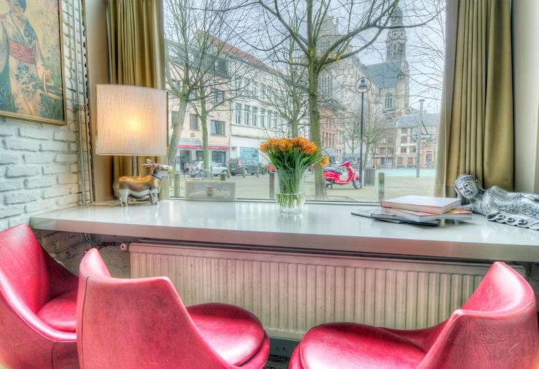 Urban Dreams, Antwerpen, Blick vom Hotel