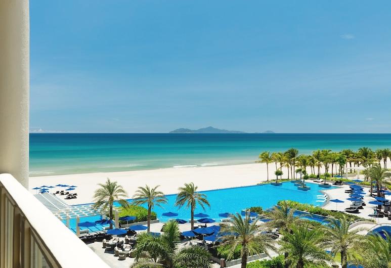 Sheraton Grand Danang Resort, Da Nang, Habitación Deluxe, 2 camas Queen size, balcón, vista al mar, Vista a la playa o el mar