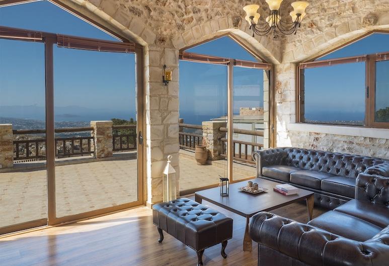 Villa Malaxa, Chania, Villa, Private Pool, Living Area