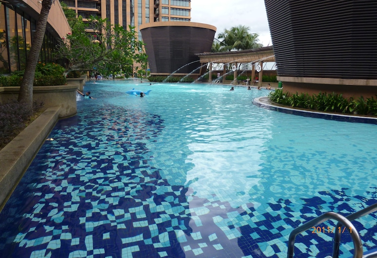 Go Daily service, Kuala Lumpur, Outdoor Pool
