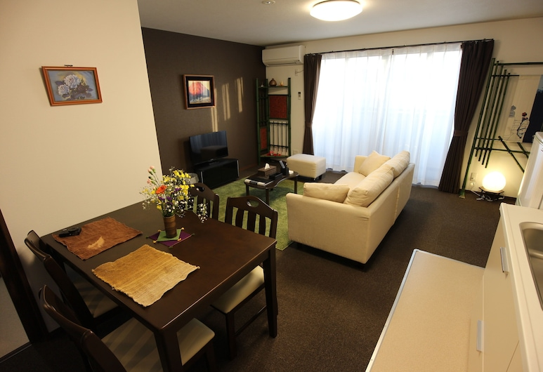 밀레 글리신 II, Kyoto, 슈피리어 아파트, 금연 ( 3F ), 거실 공간